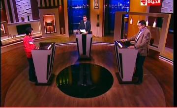 برنامج بوضوح مناظرة حول ترشح المشير السيسي من عدمه