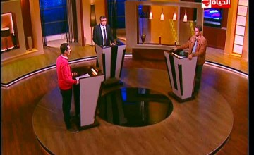 برنامج بوضوح مناظرة حول ترشح المشير السيسي وحمدين صباحي مع محمد ابو حامد وحسن شاهين