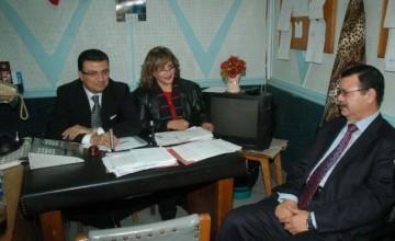 تكريم الدكتور عمرو الليثي من نادى روترى التحرير بفندق الكونرا