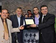 تكريم الدكتور عمرو الليثي بنقابه الصحفين