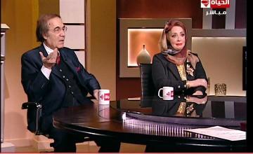 برنامج بوضوح لقاء مع الفنان محمود ياسين والفنانة شهيرة