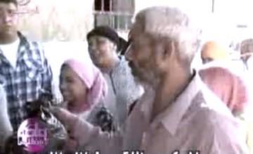 تسليم لحوم الأضاحي بعزبة الخمسين مع د عمرو الليثي