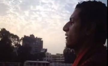 عمرو الليثي ولقاء مع شقيق الشهيد أحمد منصور