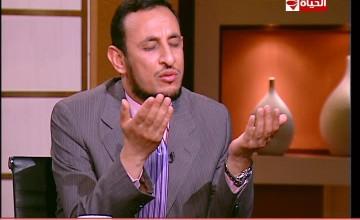 بوضوح لقاء مع الشيخ رمضان عبد المعز والمنشد مصطفى عاطف
